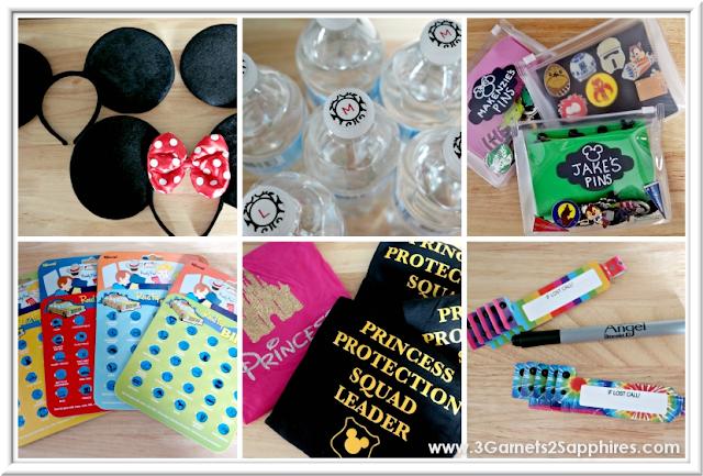 Fun Ideas for Disney Road Trip Kits | 3 Garnets & 2 Sapphires