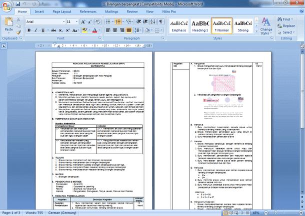 Contoh RPP Matematika Kelas 5 Kurikulum 2013 Revisi Semester 1