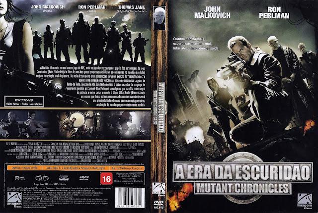 Capa DVD A Era da Escuridão Mutant Chronicles
