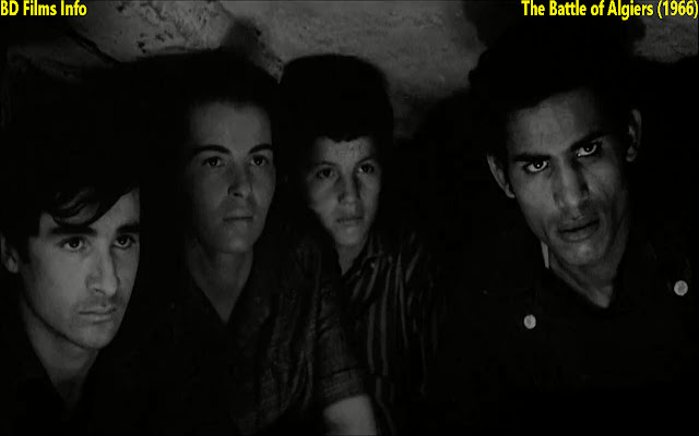 "The Battle of Algiers is an Italian-Algerian historical war film co-written and directed by Gillo Pontecorvo in 1966. The film is starred by Jean martin, Sadi Yacef and many others. It is based on the events by rebels during the Algerian war from 1954 to 1962 against the French government in North Africa. It was shot on location of Algeria. Music was composed by Ennio Morricone. It was shot in a Roberto Rossellini inspired reel style in black and white and in documentary type style to add to its sense of historical authenticity. It is associated with Italian neo-realism cinema.    Story:  The story of the film is taken from the book 'Souvenirs de la Bataille d`Alger' written by Sadi Yacef. Sadi Yacef  was  also co-producer of the film and acted in this film as FLN (National Liberation Front) commander.  The film is about Algerian liberation war against the French government.    Plot:  The film reconstructs the revolutionary events that occurred in the capital city of French Algeria between November 1954 and December 1957, during the Algerian war of Independence. The story starts with the organization of revolutionary cells in the Casbah. Director Pontecorvo and co-writer of the screenplay Franco Solinas created several protagonists in their screenplay, who are based on historical war figures. For example; FLN commander EL-Hadi Jafar, role played by Sadi Yacef who was a veteran FLN commander. Lieutenant Colonel Mathieu the paratroop commander is the principal French character. Other characters are the boy Petit Omar, a Street Urchin who is an FLN messenger, Larbi Ben M'hidi, a top FLN leader who provides the political rationale for the insurgency and Djamila, Zohra, Hassiba the FLN women urban guerrillas who carry out a terrorist attack. ""How to win a battle against terrorism and lose the war of ideas; Children shoot soldiers at point blank range. Women plant bombs in cafes; soon the entire Arab population builds to a mad fervor. Sound familiar? The French have a plan. It succeeds tactically but fails strategically. To understand why, come to a rare showing of this film.""    Cinematography:  Pontecorvo's one of the best friends Marcello Gatti was the cinematographer of the film. Shooting location was in Casbah, Algeria. Cinematographer filmed in black and white and experimented with various techniques to give the film the look of newreel and documentary film. To know about cinematography style of the film, we have to describe its shot variations, mise-en-scene and lighting.    Shot:  Several times handheld camera has been used in this film. There is variation in shot divisions. For example; wide angle shot, long shot, medium shot, close up shot and extreme close up shot have been used in this film.    Mise-en-scene:  Most of the times of the film duration, it is noticed that most of the scenes are taken in outdoor. The arrangement of the scenes and props are made in a very artistic way but it looks very natural. As it is a documentary type film, the arrangement of the props is seemed like the situation or condition of the props is very natural or seems realistic. Good framing, shot divisions and scenes arrangement are realistic and natural in this film.    Lighting:  The film is shot based on Italian neo-realism style. It is captured totally in outdoor shooting. But artificial light is also used in this film. Most of the scenes of the film natural light has been used in this film. But for the indoor shooting artificial lighting has been used precisely.    Acting:  It is a documentary style film directed in 1966. According to the cinematography acting is very natural in this film. For example; acting of Jean Martin, Saadi Yacef, Brahim Haggiag, Tommaso Neri and some others is very natural and seems it is realistic. It is like documentary style film to all. Sound and Music:  Sound and music is composed by both Ennio Morricone and Gillo Pontecorvo. For example; latter the background music of rifles, bombs and pistols has been composed according to the scenes.    Editing:  Editing style is marvelous in this film. Before, I have described that it's a documentary style film. The audiences generally like this kind of editing style. I mean shot variations are inevitable. Besides different kinds of angles and emerging the scenes are also important. The film is edited by both Mario Morra and Mario Serandrei. It is artistic editing style. Their editing style or techniques are very important in this film."