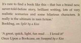 Quote in Kiss Date Love Hate by Luisa Plaja