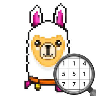 Jeu Pixel Art Animaux Peinture Par Numero Gratuit