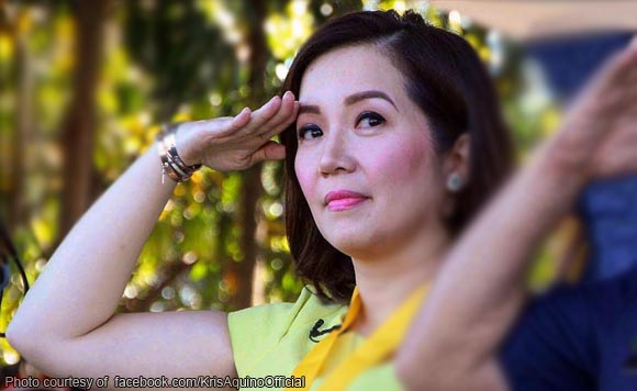 Kris supports Duterte administration: I pray for President Duterte