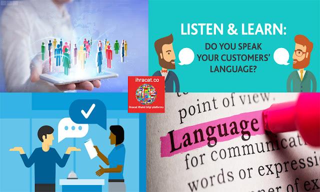 müşteri ile aynı dili kullanmak