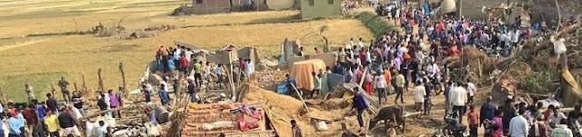 बारा–पर्सामे प्रकृतिका भिषण विपदा, ३५ से बढा मृतकका संख्या
