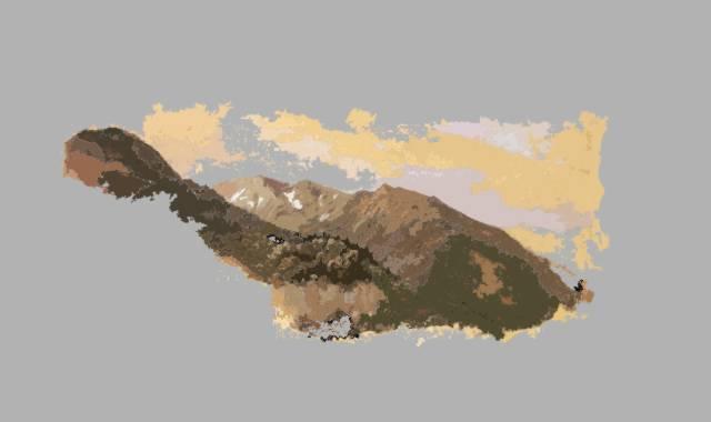 Berglandschaft- Alpen