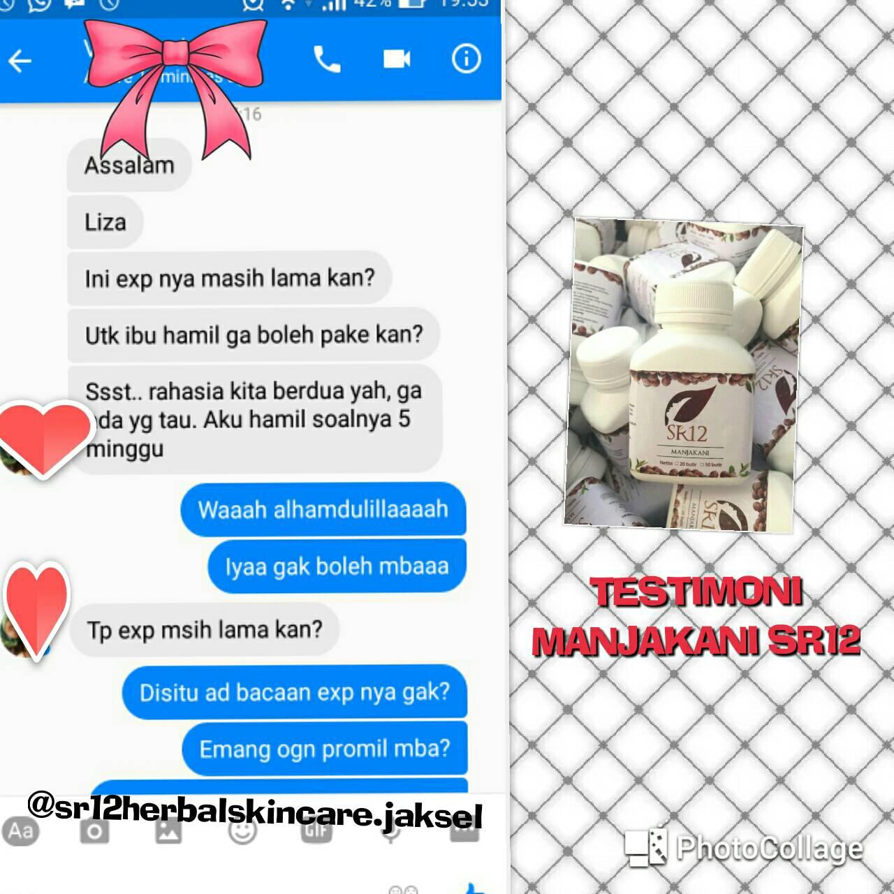 Sr12 Herbal Skincare Jakarta Cara Pakai Manjakani Untuk Promil Salimah Slim Berikut Ini Program Hamil