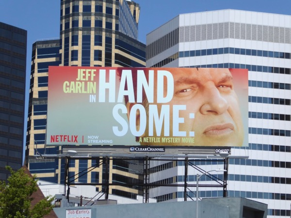 Handsome Netflix Mystery Movie billboard