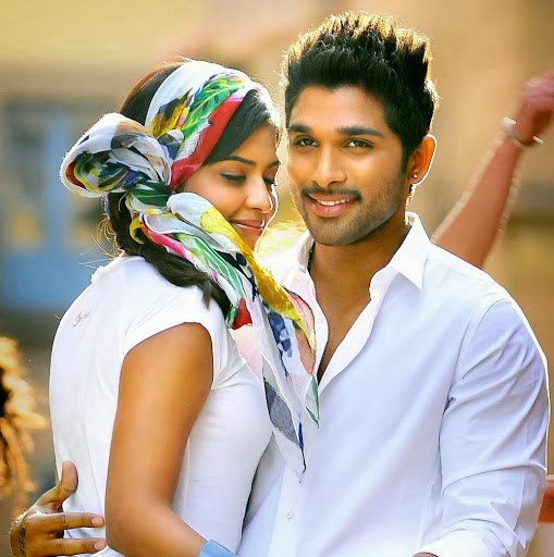 Allu Arjun with Amala Paul