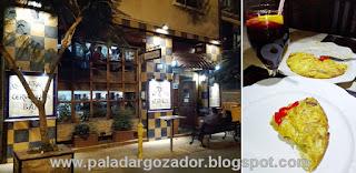 El Txoko Alaves Fachada y Tortilla Española