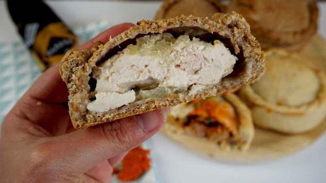 empanadas mallorquinas de pollo y cebolla