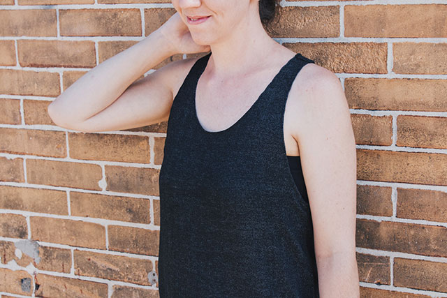 How to sew a minimal tank top