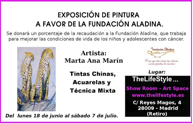 INVITACIÓN. EXPOSICIÓN  DE PINTURA EN THELIFESTYLE.