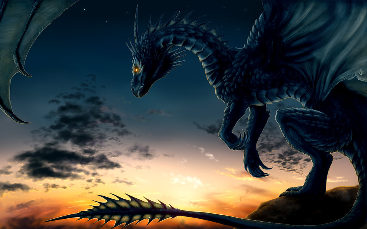 awesome 3d dragon wallpaper - photo #14