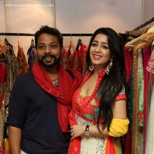 Charmi Kaur latest hot photos from Absolute Lifestyle Exhibition