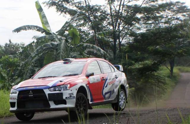 Subhan Aksa Juarai Kejurnas Sprint Rally seri 3 di Lintasan Aspal PMPP TNI