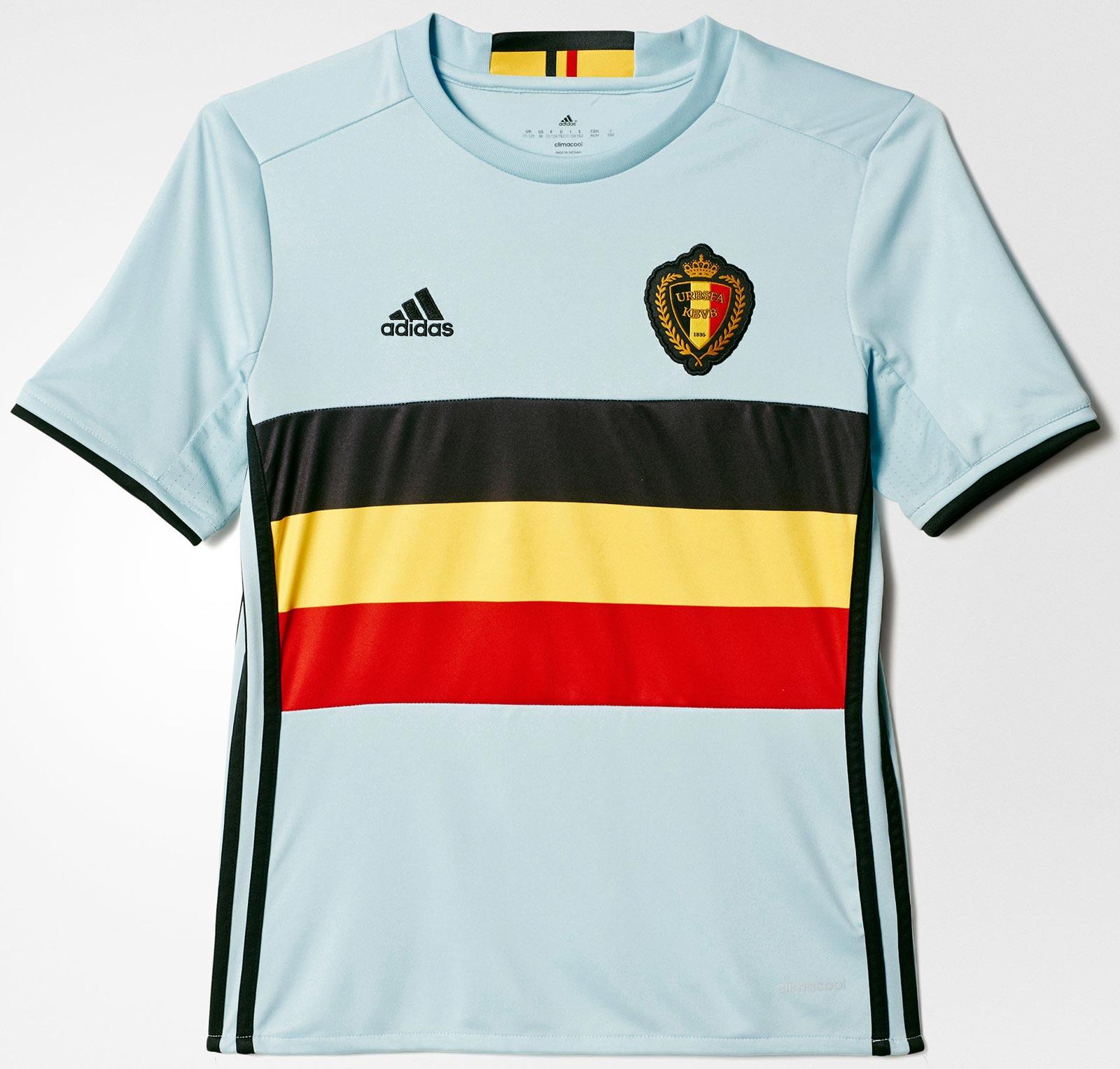 Adidas divulga nova camisa reserva da Bélgica - Show de Camisas 7351a10cef4db