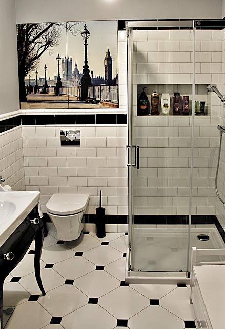 Stylowa łazienka B&W