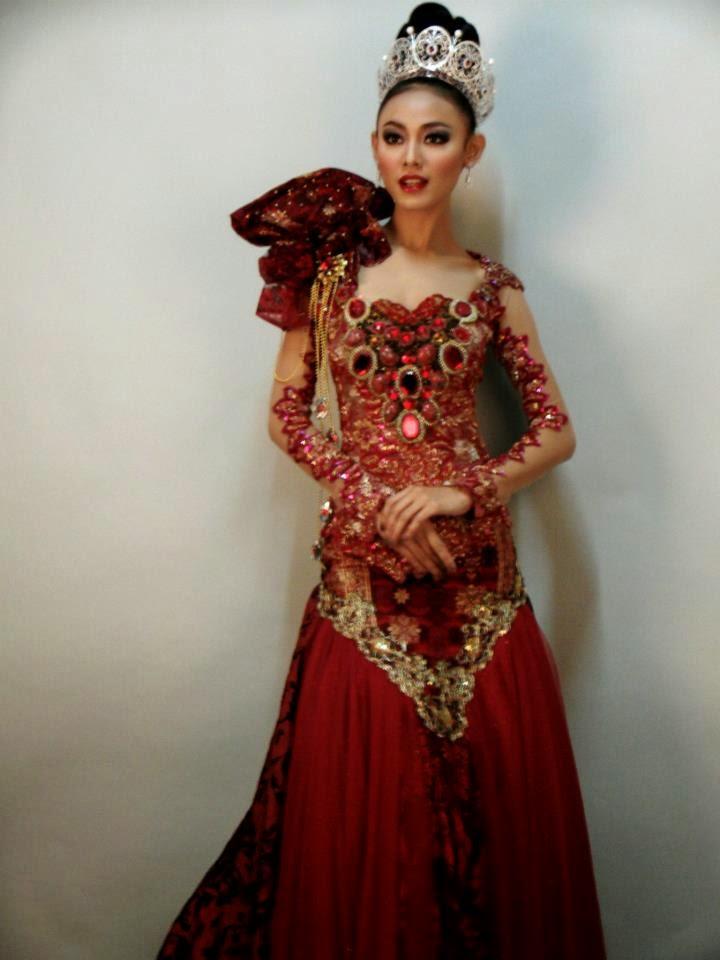 Modern Kebaya Princess And Miss International Kebaya