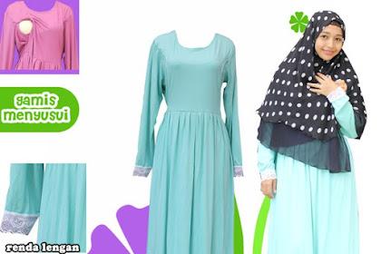 Jual Baju Gamis : Pilihan Baju Gamis yang Cocok untuk Ibu Menyusui