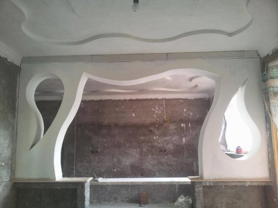 Arches platre platre for Model de platre moderne