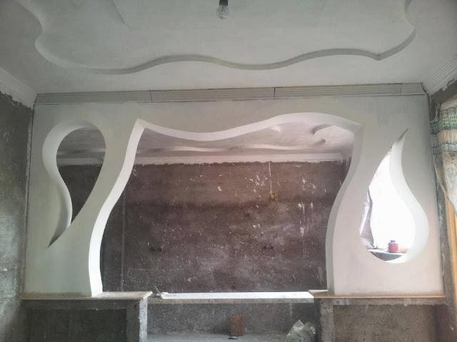 أقواس الجبس المغربي  arches plaque platre