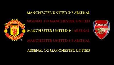 Manchester United dan Arsenal Masing-Masing Meraih Kemenangan Dua Kali
