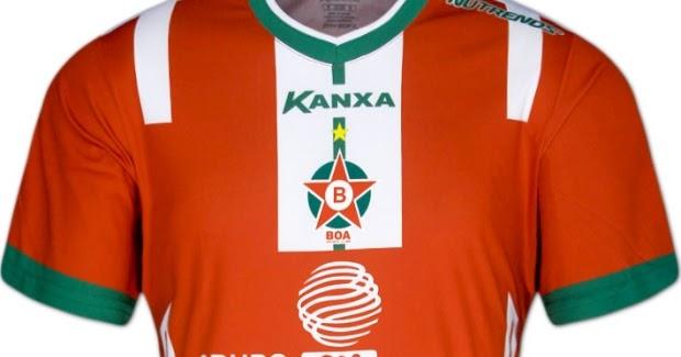 7e94c6d44a Kanxa lança a nova camisa titular do Boa Esporte - Show de Camisas