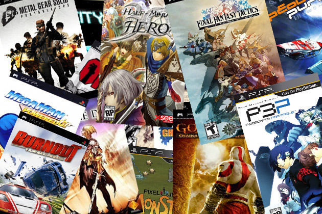 LIST OF TOP 10 MOST POPULAR PPSSPP/PSP GAMES 2K17