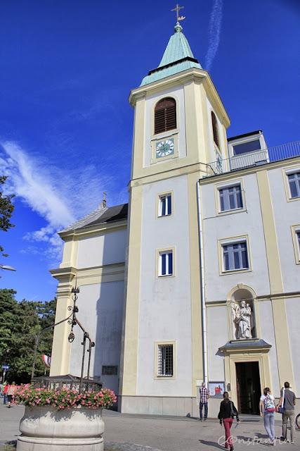 Kahlemberg - Biserica Sf. Iosif  - blog FOTO-IDEEA