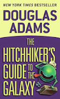 Image result for hitchhiker's guide book goodreads