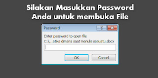 Cara Proteksi File Microsoft Office Word dengan Password