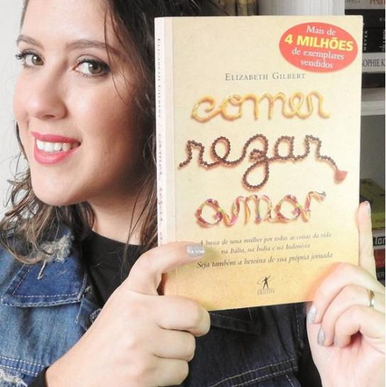 Resenha Livro - Comer, Rezar, Amar.