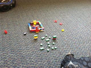 Lego bricks landscape (Brick by Brick)