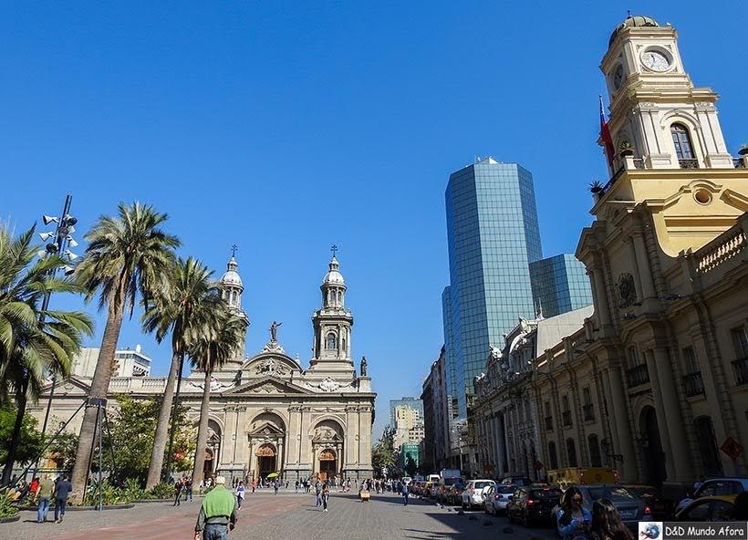 Plaza de Armas - Diário de Bordo Chile: 8 dias em Santiago e arredores