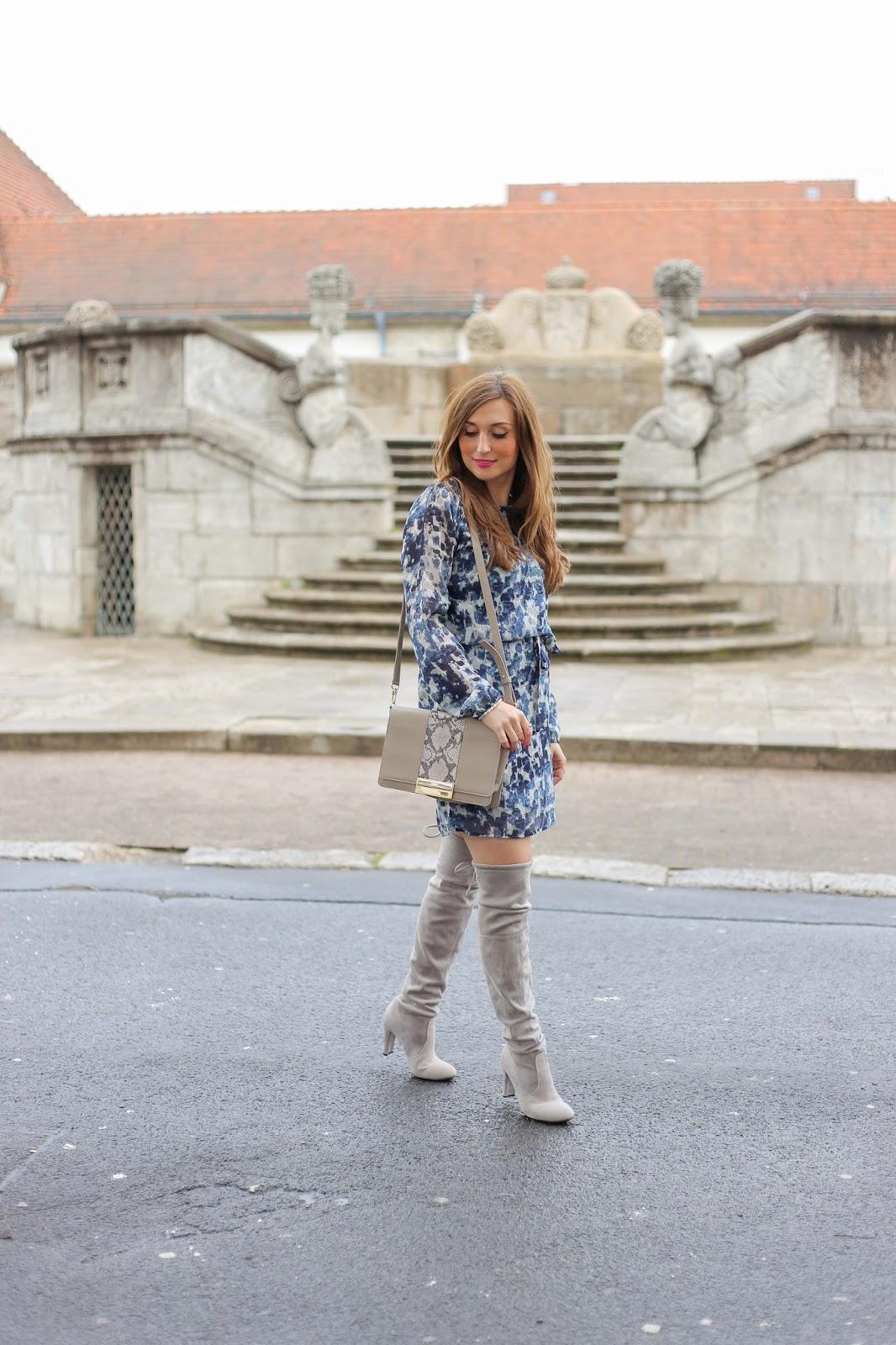 Fashionblogger - Deutsche Fashionblogger StreetOne – Streetone Kleid - Fashionstylebyjohanna - Blogger im Kleid - Streetstyle - Blogger im Karokleid - Fashionblogger aus Deutschland - Deutsche Fashionblogger – Fashionblog – Blogger Streetstylelook - Fashionblogger Frankfurt