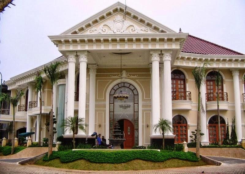 Gambar Rumah Klasik Gaya Eropa Desain Terbaru Modern Mewah