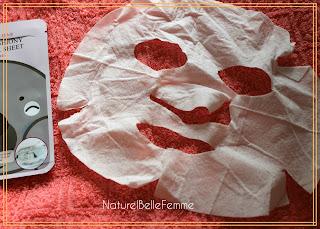 Milatte pearl sheet mask