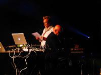 Hans-Joachim & Martha Roedelius live @ Electronic Circus 2016 / photo S. Mazars