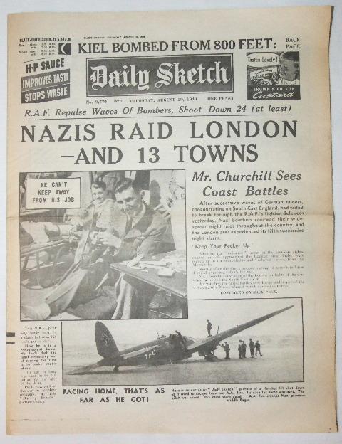 29 August 1940 worldwartwo.filminspector.com Daily Sketch