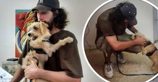 Indigente pedía dinero para liberar a su perro de la perrera