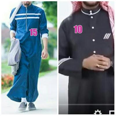 baju gamis masa kini