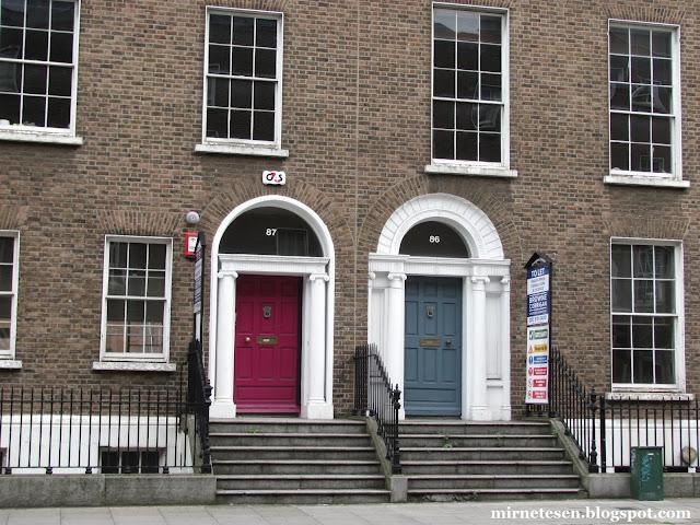 Дублин - разноцветные двери