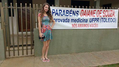 Filha do comandante da PM de Roncador é aprovada em medicina