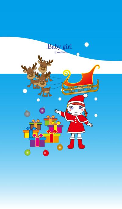Baby girl-Merry Christmas-1