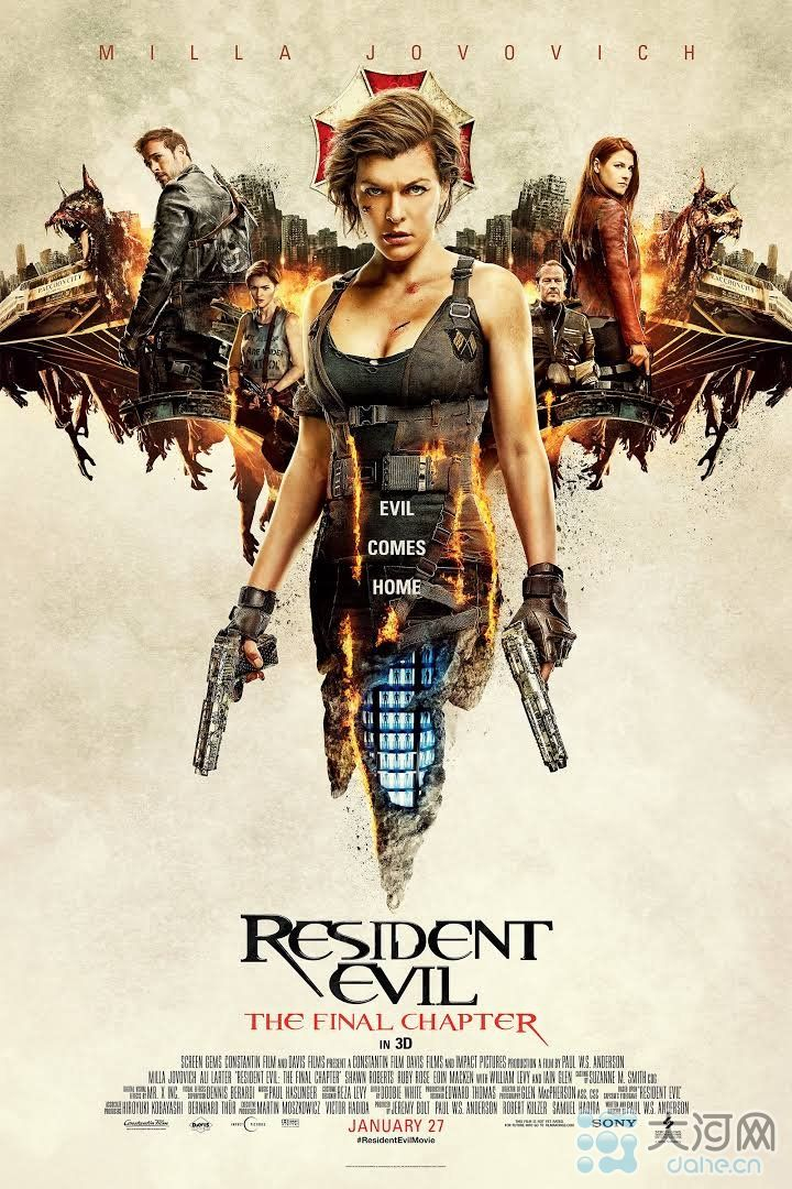 Resident Evil: The Final Chapter Dual Audio Hindi Dubbed