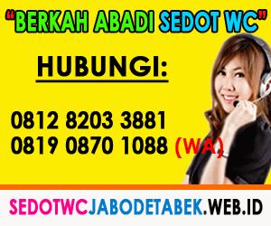JASA TUKANG SEDOT WC Cilandak Jakarta Selatan
