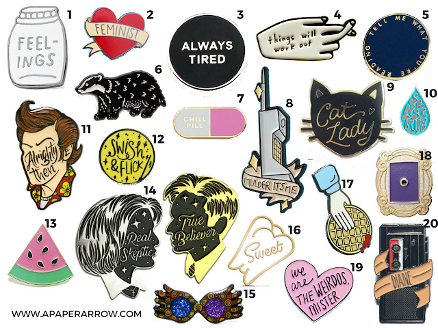 #enamelpins, #fashion, #trends, #popculture