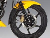 Honda CBF125: Ruedas y frenos