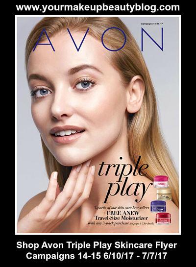 Shop Avon Triple Skincare Flyer Campaigns14-15 6/10/17 - 7/7/17
